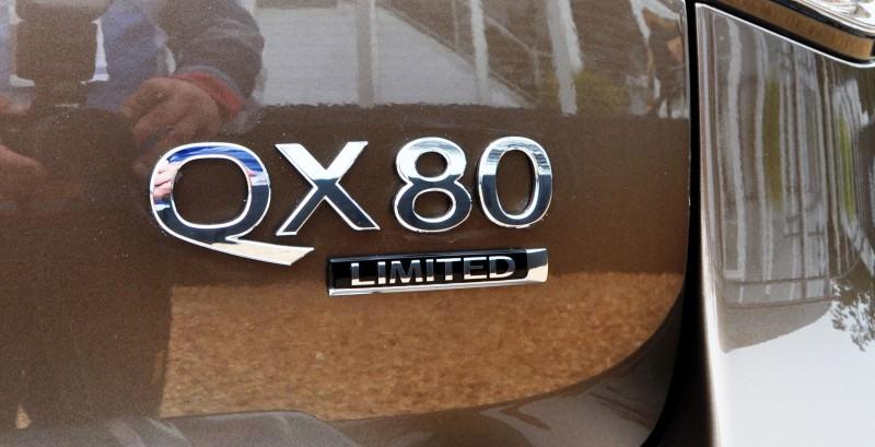Car-Revs-Daily.com 2015 INFINITI QX80 Limited Pebble Beach 143