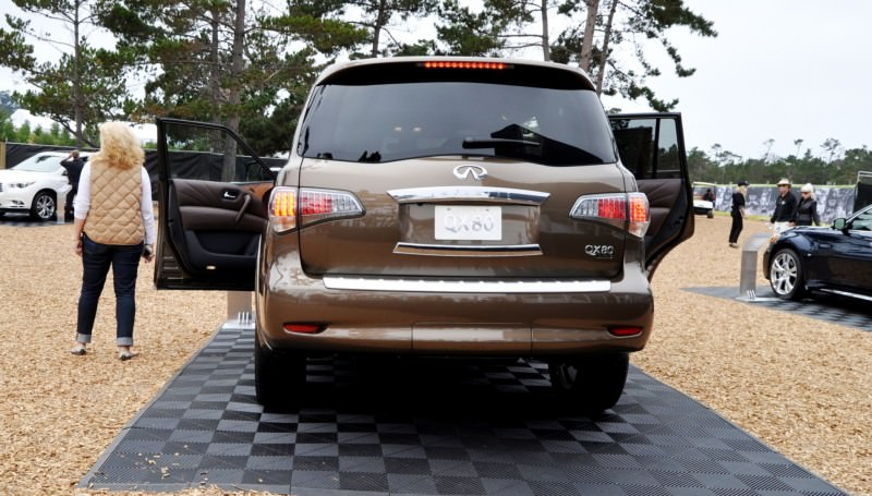 Car-Revs-Daily.com 2015 INFINITI QX80 Limited Pebble Beach 146