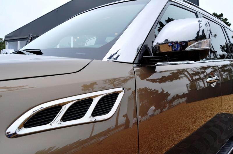 Car-Revs-Daily.com 2015 INFINITI QX80 Limited Pebble Beach 150
