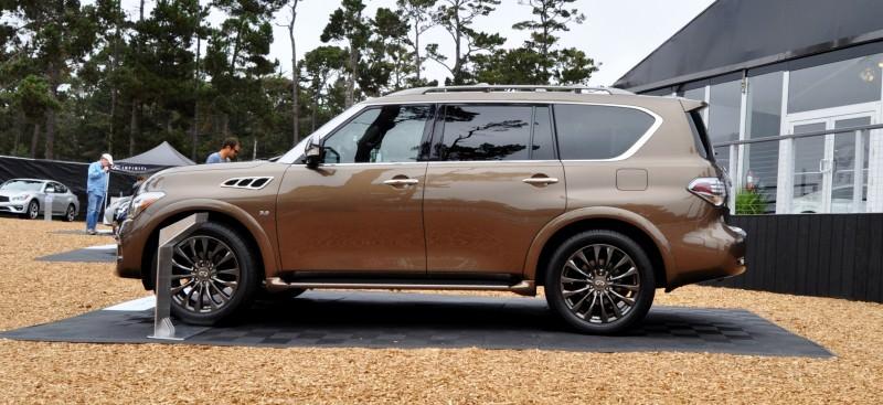Car-Revs-Daily.com 2015 INFINITI QX80 Limited Pebble Beach 39