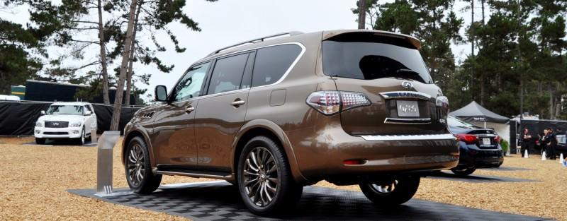 Car-Revs-Daily.com 2015 INFINITI QX80 Limited Pebble Beach 44