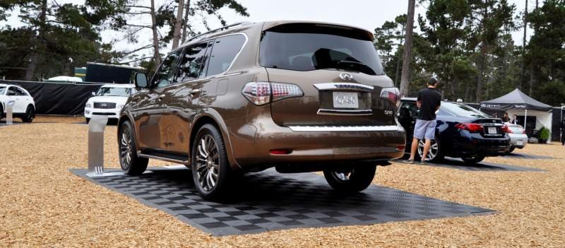 Car-Revs-Daily.com 2015 INFINITI QX80 Limited Pebble Beach 47