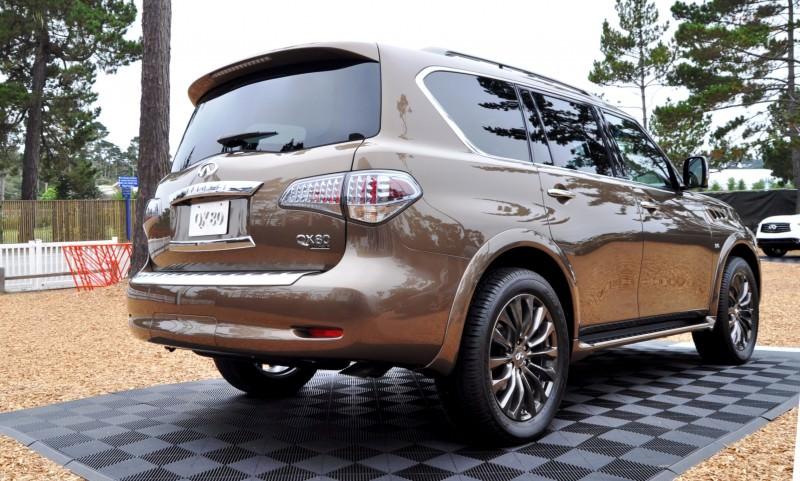 Car-Revs-Daily.com 2015 INFINITI QX80 Limited Pebble Beach 61