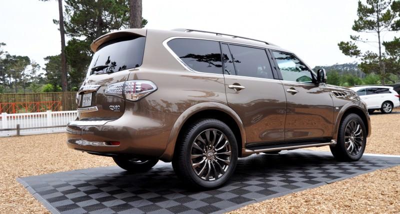 Car-Revs-Daily.com 2015 INFINITI QX80 Limited Pebble Beach 63