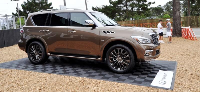 Car-Revs-Daily.com 2015 INFINITI QX80 Limited Pebble Beach 78