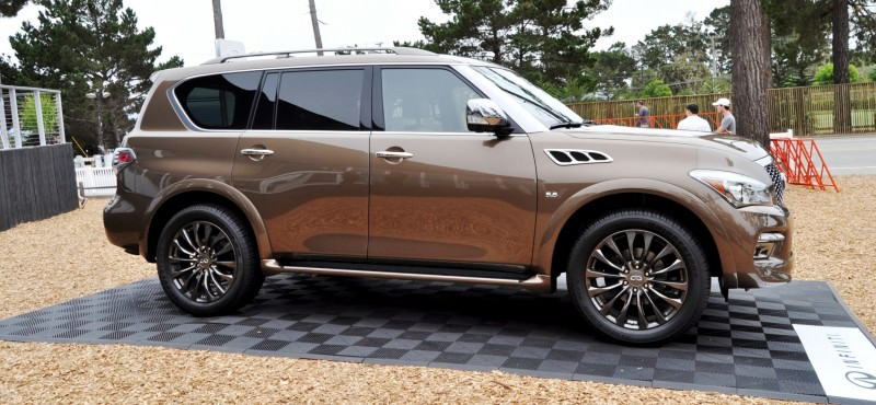 Car-Revs-Daily.com 2015 INFINITI QX80 Limited Pebble Beach 81