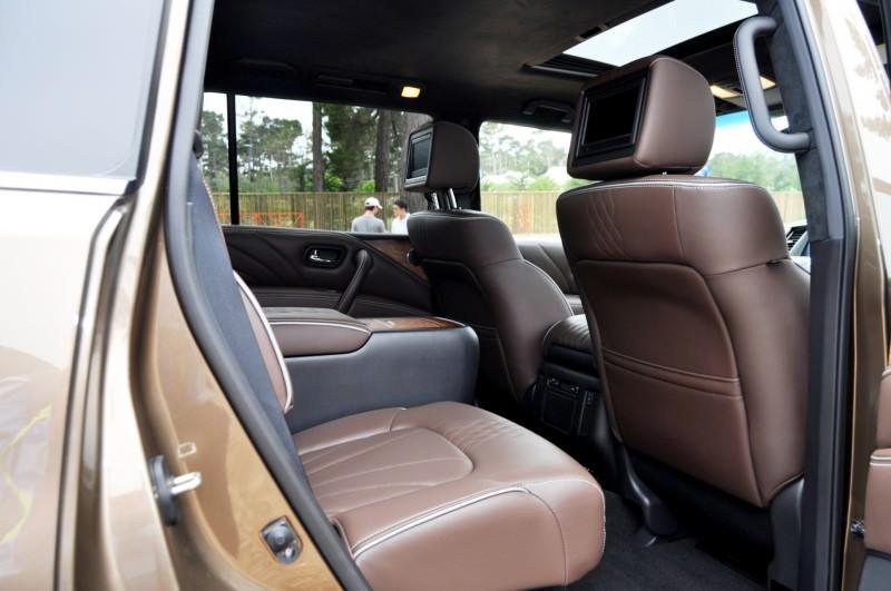 Car-Revs-Daily.com 2015 INFINITI QX80 Limited Pebble Beach 82