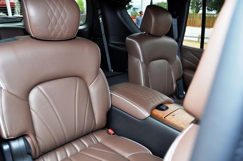 Car-Revs-Daily.com 2015 INFINITI QX80 Limited Pebble Beach 85