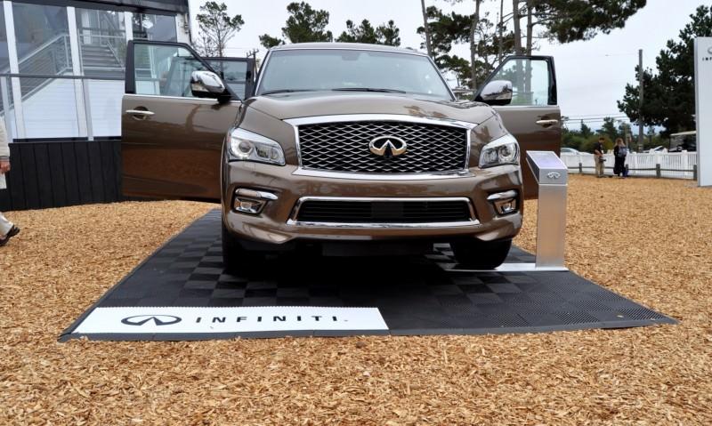 Car-Revs-Daily.com 2015 INFINITI QX80 Limited Pebble Beach 97