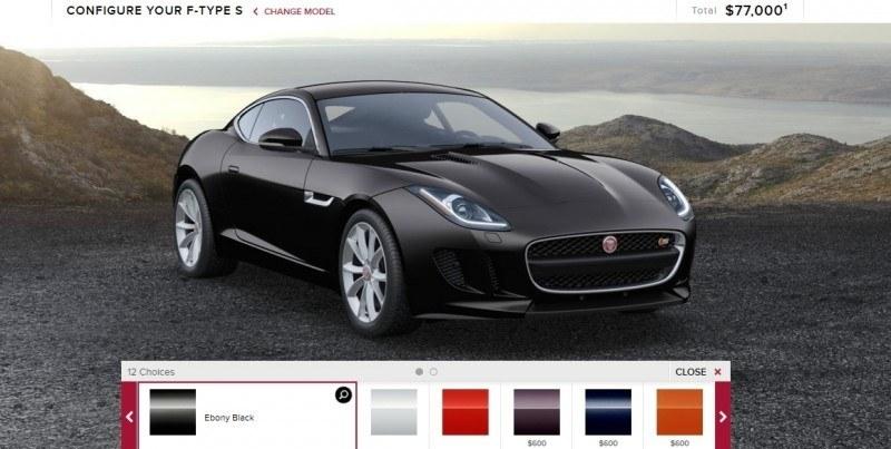 Car-Revs-Daily.com 2015 JAGUAR F-Type S Coupe - Options, Exteriors and Interior Colors Detailed1