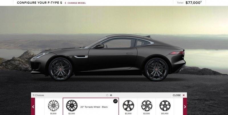 Car-Revs-Daily.com 2015 JAGUAR F-Type S Coupe - Options, Exteriors and Interior Colors Detailed17