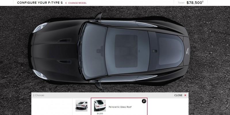 Car-Revs-Daily.com 2015 JAGUAR F-Type S Coupe - Options, Exteriors and Interior Colors Detailed21