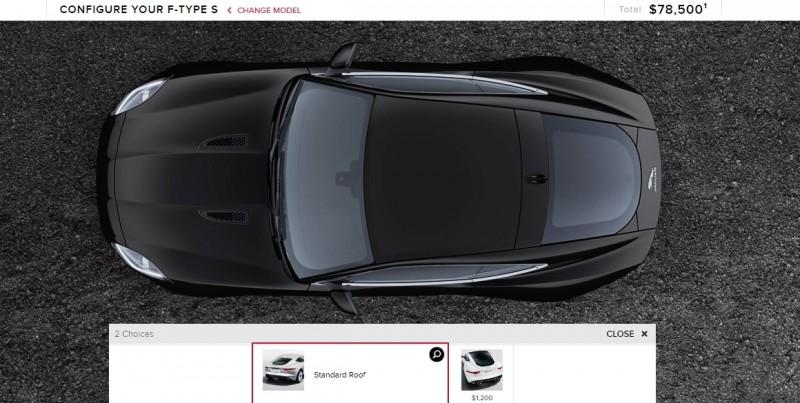 Car-Revs-Daily.com 2015 JAGUAR F-Type S Coupe - Options, Exteriors and Interior Colors Detailed22