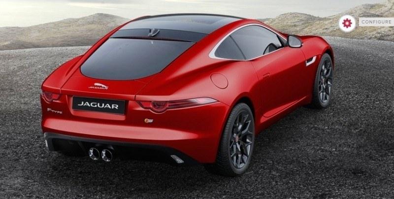 Car-Revs-Daily.com 2015 JAGUAR F-Type S Coupe - Options, Exteriors and Interior Colors Detailed35