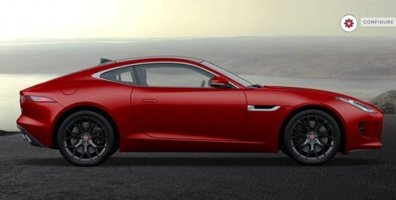 Car-Revs-Daily.com 2015 JAGUAR F-Type S Coupe - Options, Exteriors and Interior Colors Detailed41