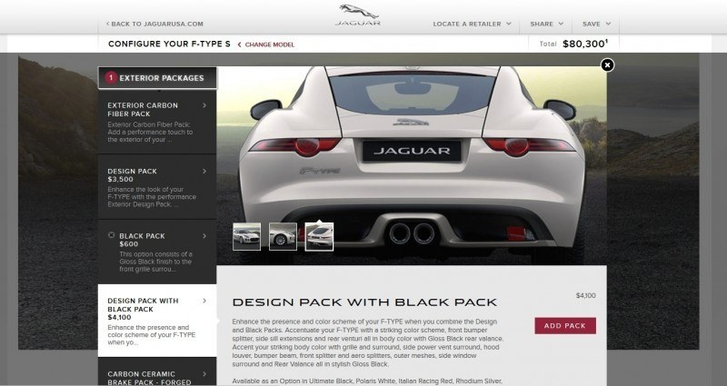 Car-Revs-Daily.com 2015 JAGUAR F-Type S Coupe - Options, Exteriors and Interior Colors Detailed65