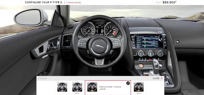 Car-Revs-Daily.com 2015 JAGUAR F-Type S Coupe - Options, Exteriors and Interior Colors Detailed98