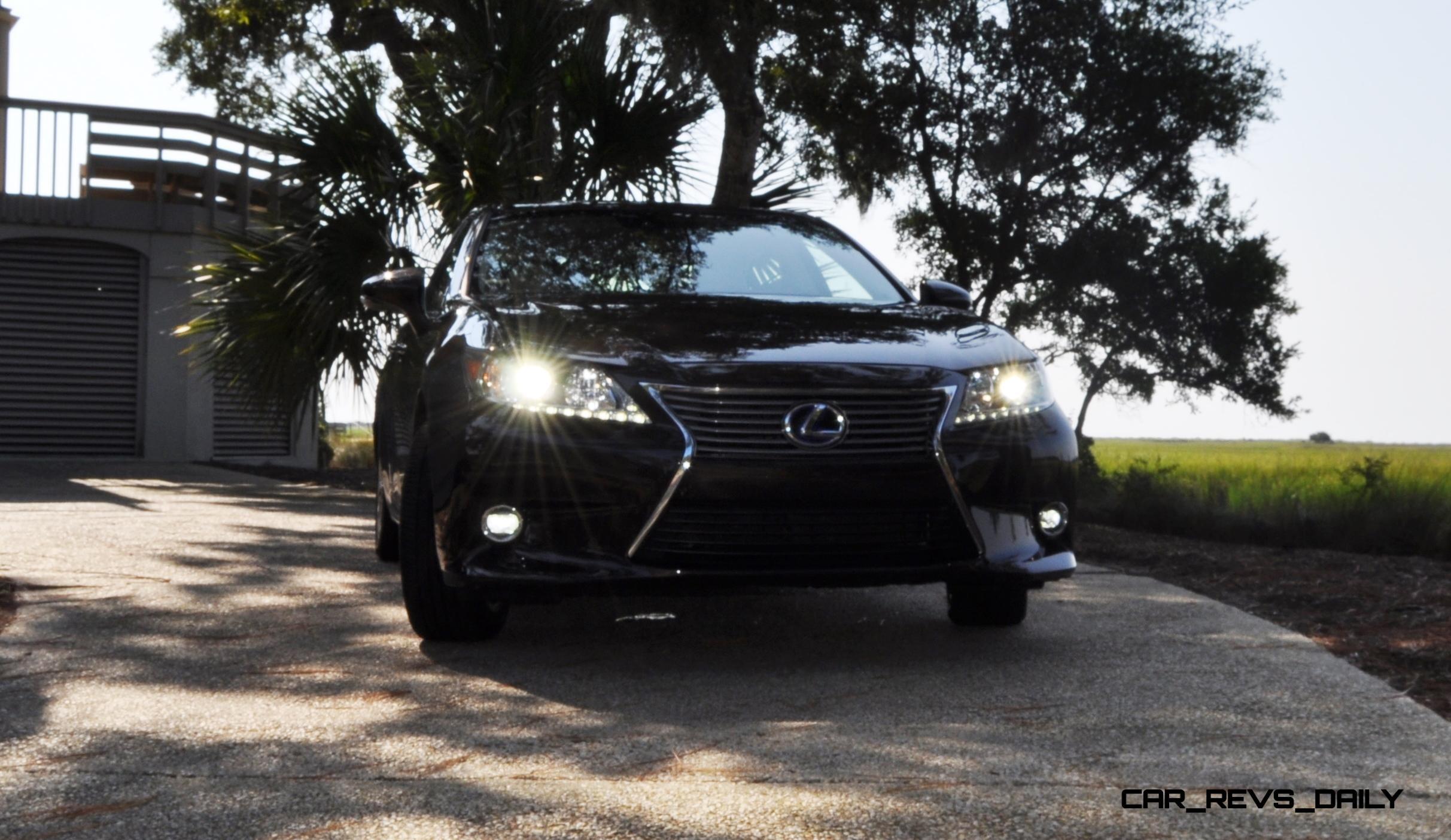 2015 Lexus ES300h Review