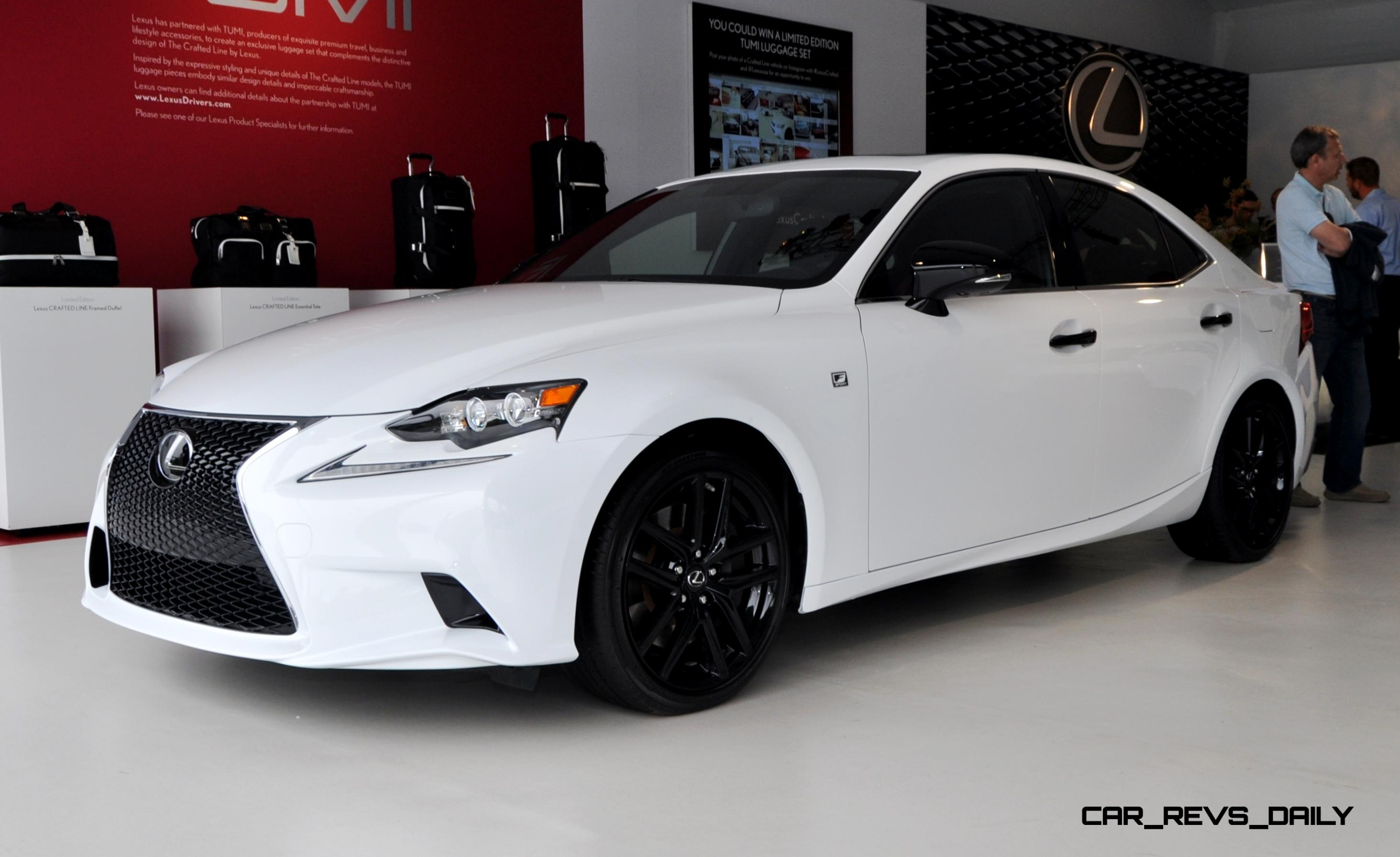 Car Revs Daily 2015 Lexus IS250 F Sport CRAFTED LINE 13