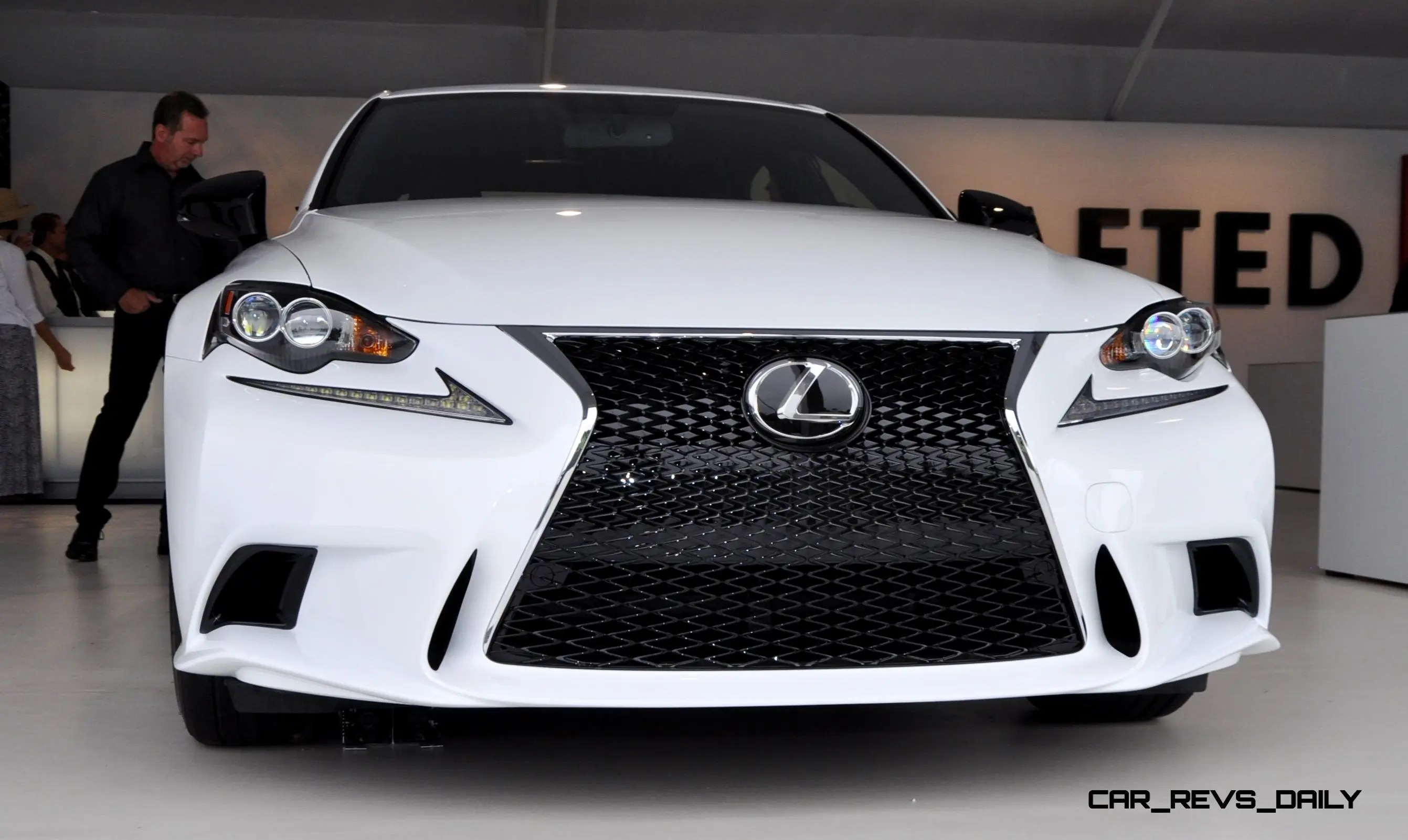 Car Revs Daily 2015 Lexus IS250 F Sport CRAFTED LINE 2