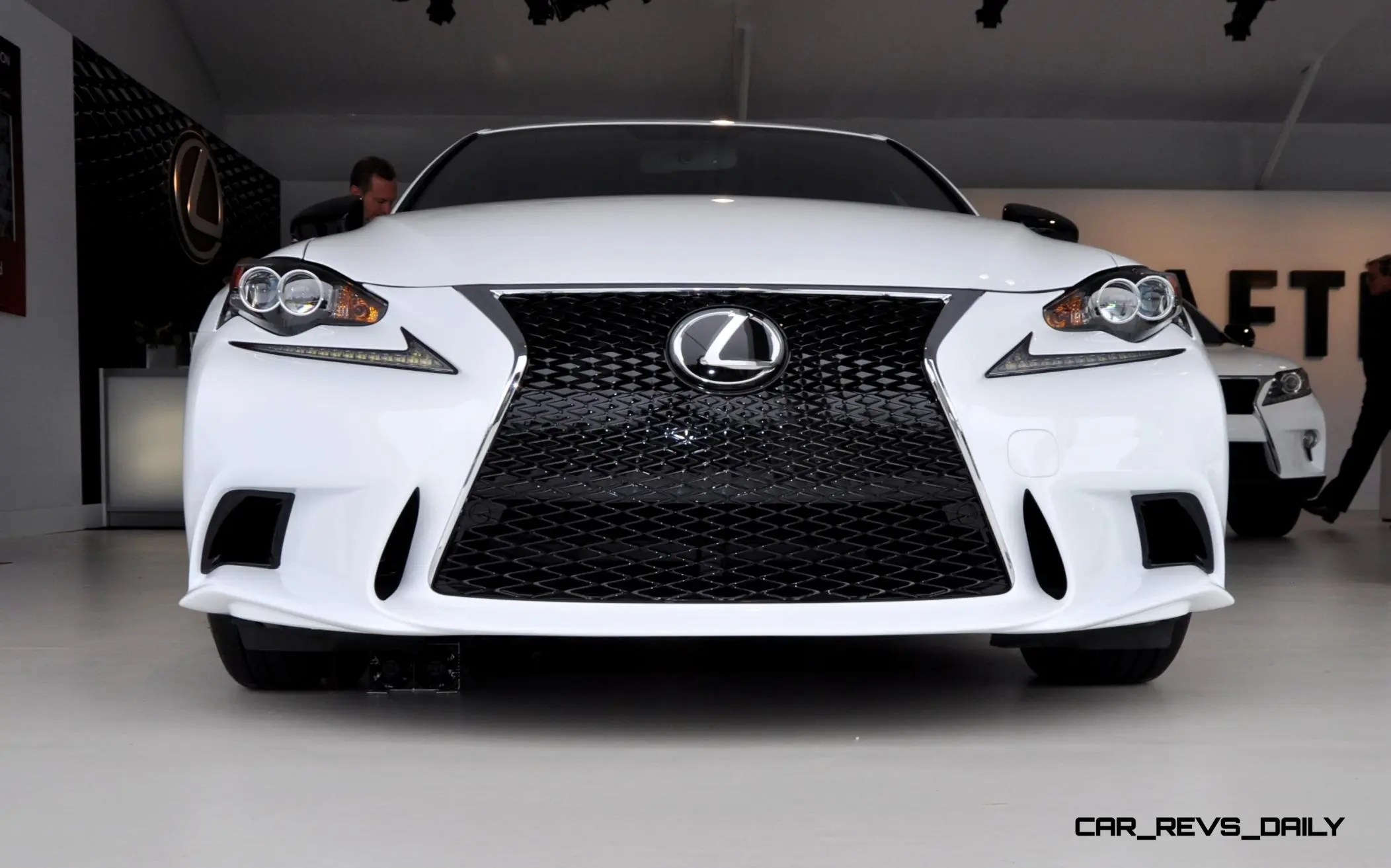 Car Revs Daily 2015 Lexus IS250 F Sport CRAFTED LINE 4