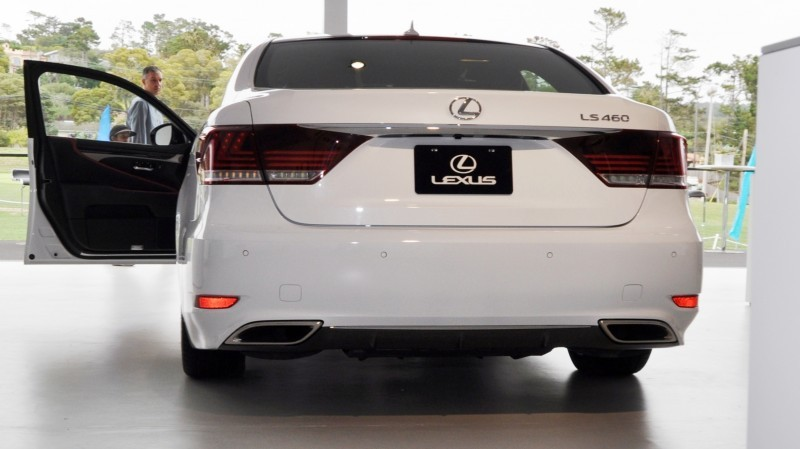 Car-Revs-Daily.com 2015 Lexus LS460 F Sport Crafted Line Is Most-Enhanced by Glossy Black and White Makeover 5