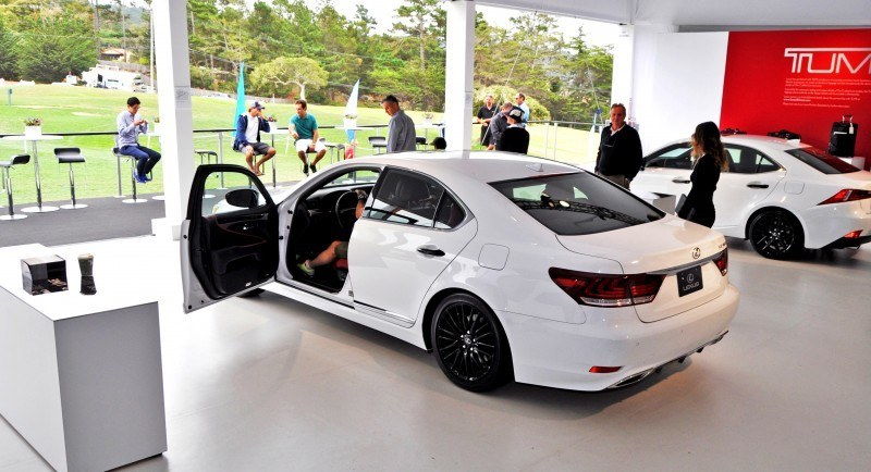 Car-Revs-Daily.com 2015 Lexus LS460 F Sport Crafted Line Is Most-Enhanced by Glossy Black and White Makeover 7