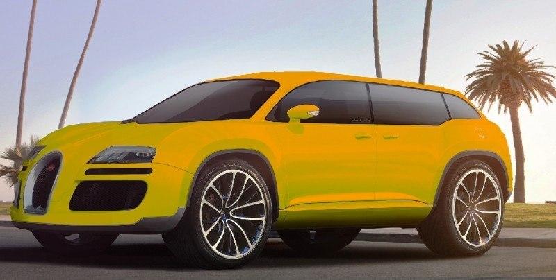 Car-Revs-Daily.com 2017 BUGATTI SUV Renderings 4