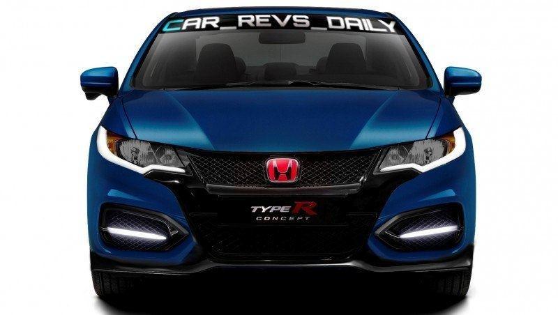 Car-Revs-Daily.com Exclusive 2016 USA Honda Civic Type R Renderings 4