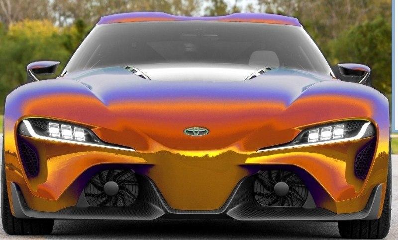 Car-Revs-Daily.com FT-1 Digital Colorizer - 150 Shades of 2016 TOYOTA SUPRA TURBO 12