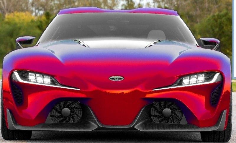 Car-Revs-Daily.com FT-1 Digital Colorizer - 150 Shades of 2016 TOYOTA SUPRA TURBO 14