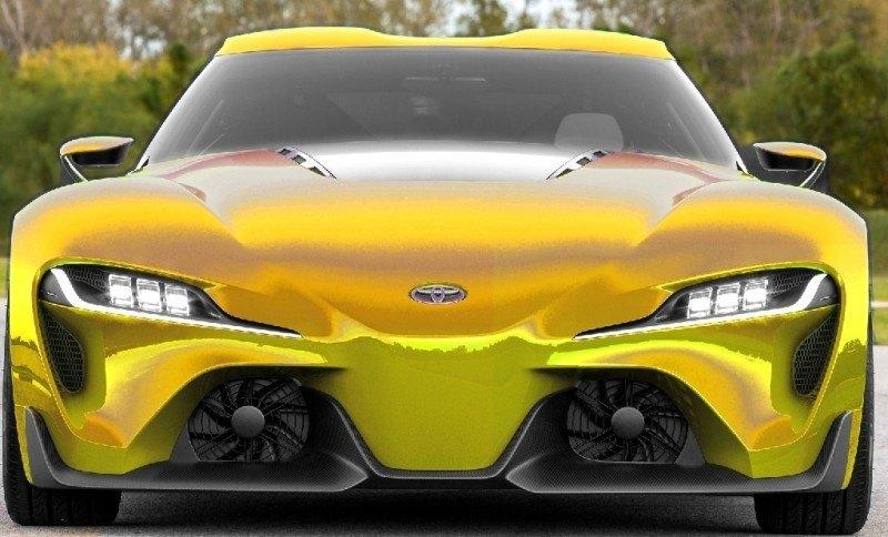 Car-Revs-Daily.com FT-1 Digital Colorizer - 150 Shades of 2016 TOYOTA SUPRA TURBO 17