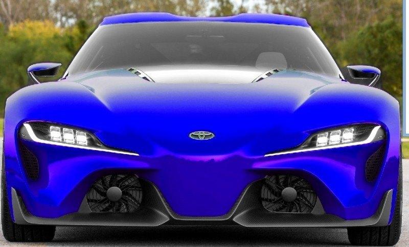 Car-Revs-Daily.com FT-1 Digital Colorizer - 150 Shades of 2016 TOYOTA SUPRA TURBO 4