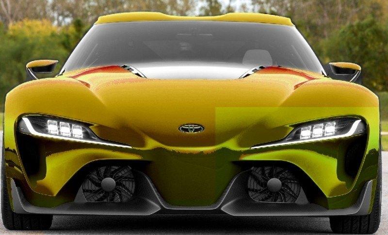 Car-Revs-Daily.com FT-1 Digital Colorizer - 150 Shades of 2016 TOYOTA SUPRA TURBO 58