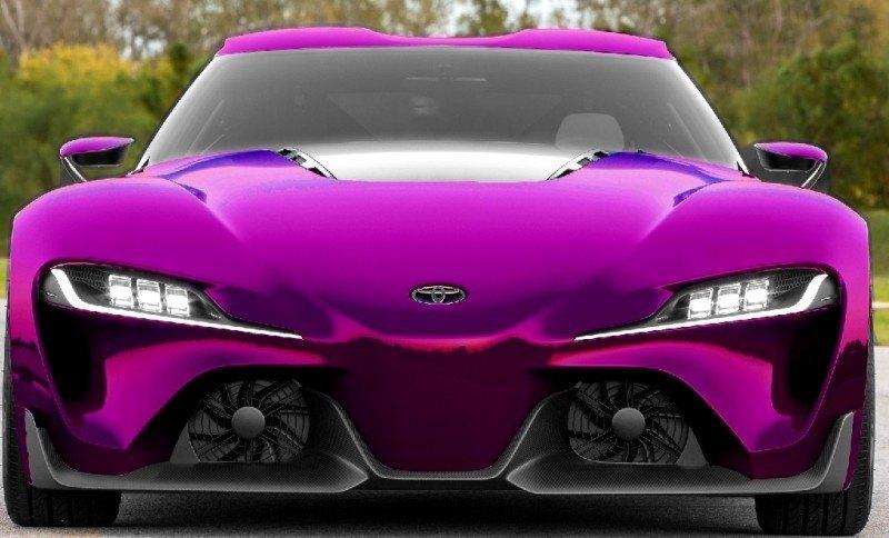 Car-Revs-Daily.com FT-1 Digital Colorizer - 150 Shades of 2016 TOYOTA SUPRA TURBO 65