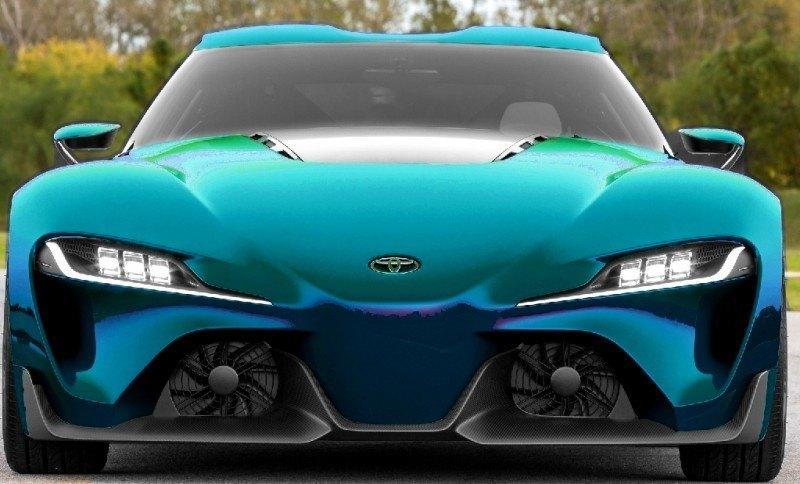 Car-Revs-Daily.com FT-1 Digital Colorizer - 150 Shades of 2016 TOYOTA SUPRA TURBO 74