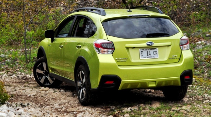 Car-Revs-Daily.com Goes Off-Roading in 2014 Subaru XV Crosstrek Hybrid 41