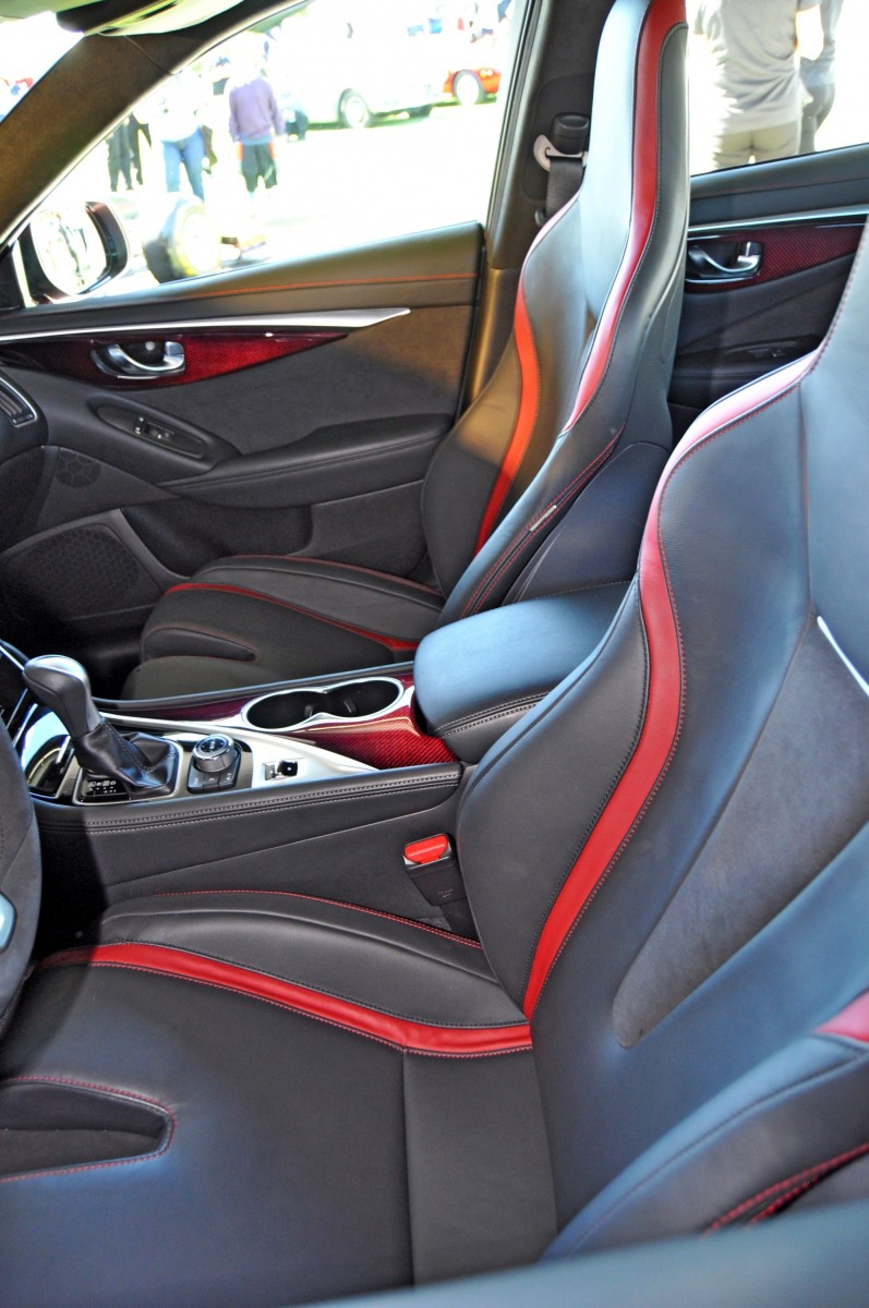 Car-Revs-Daily.com INFINITI Q50 Eau Rouge in 40 New Photos From Pebble Beach  24