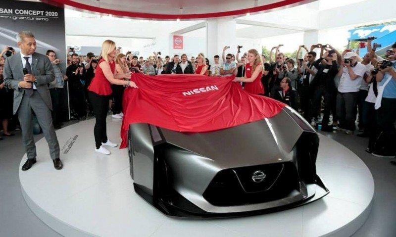 Car-Revs-Daily.com Nissan NC2020 Vision Gran Turismo Makes Real-Life Debut at Goodwood FoS 14