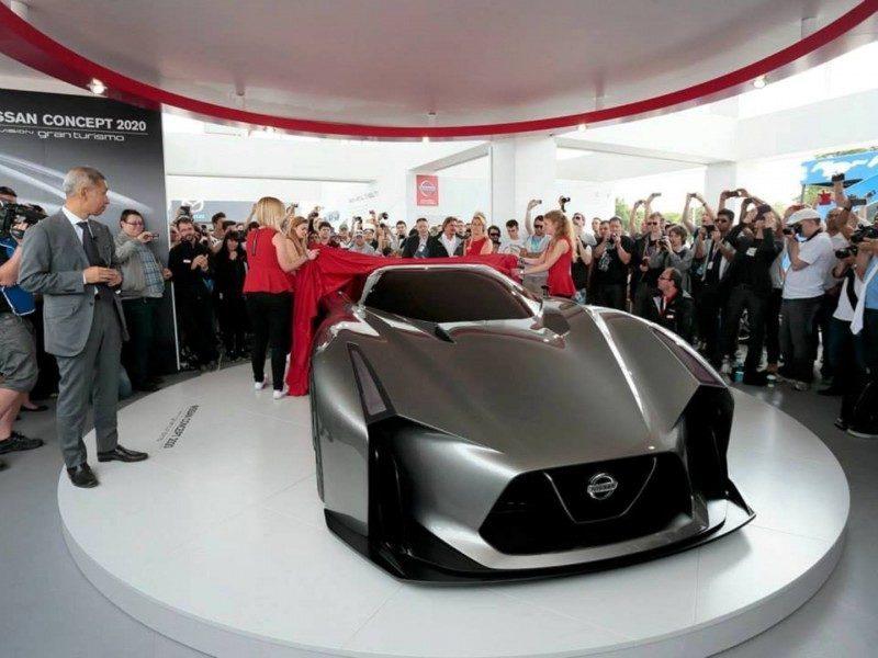 Car-Revs-Daily.com Nissan NC2020 Vision Gran Turismo Makes Real-Life Debut at Goodwood FoS 17