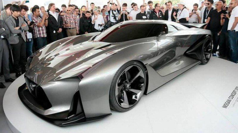 Car-Revs-Daily.com Nissan NC2020 Vision Gran Turismo Makes Real-Life Debut at Goodwood FoS 3