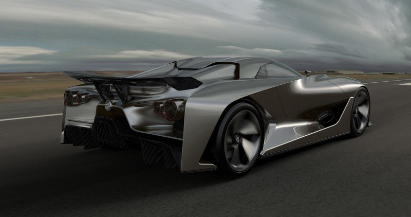 Car-Revs-Daily.com Nissan NC2020 Vision Gran Turismo Makes Real-Life Debut at Goodwood FoS 40