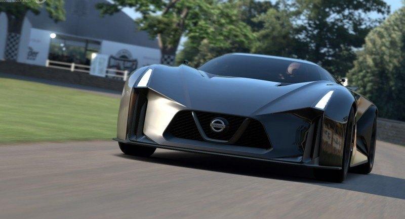 Car-Revs-Daily.com Nissan NC2020 Vision Gran Turismo Makes Real-Life Debut at Goodwood FoS 50