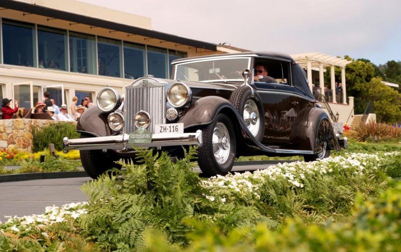 Car-Revs-Daily.com PEBBLE BEACH 2014 Concours - Award Winners Showcase by Entry Class 18