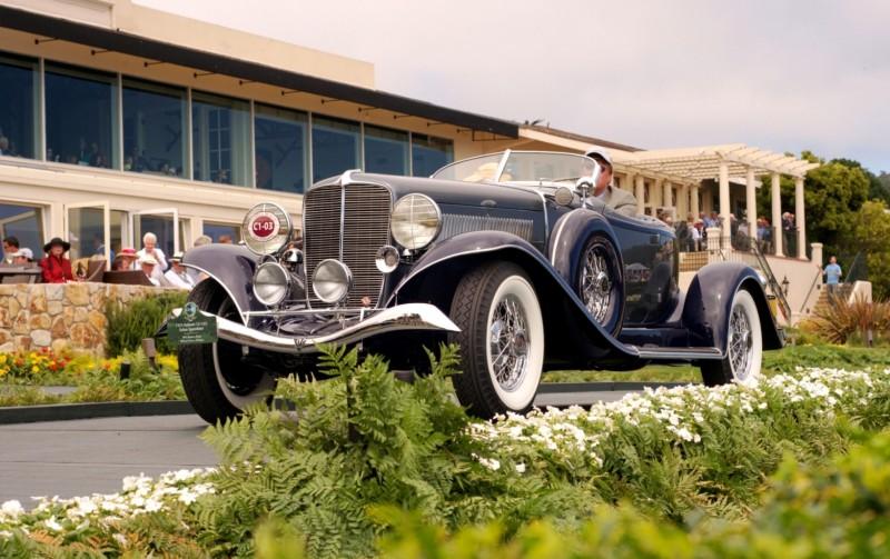 Car-Revs-Daily.com PEBBLE BEACH 2014 Concours - Award Winners Showcase by Entry Class 7