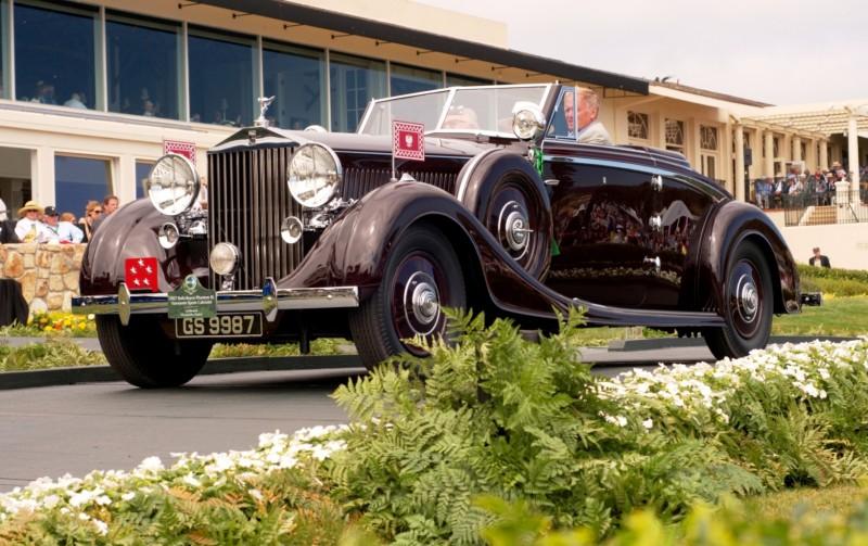 Car-Revs-Daily.com PEBBLE BEACH 2014 Concours - Award Winners Showcase by Entry Class 70
