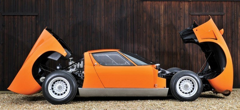 Car-Revs-Daily.com RM Auctions Monaco 2014 Highlights - 1969 Lamborghini Miura S Jota 22