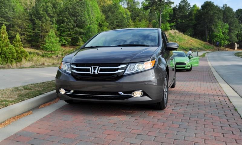Car-Revs-Daily.com Road Test Review - 2014 Honda Odyssey Touring Elite 15