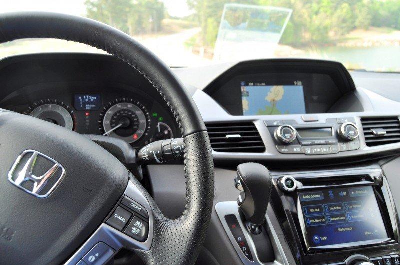 Car-Revs-Daily.com Road Test Review - 2014 Honda Odyssey Touring Elite 17