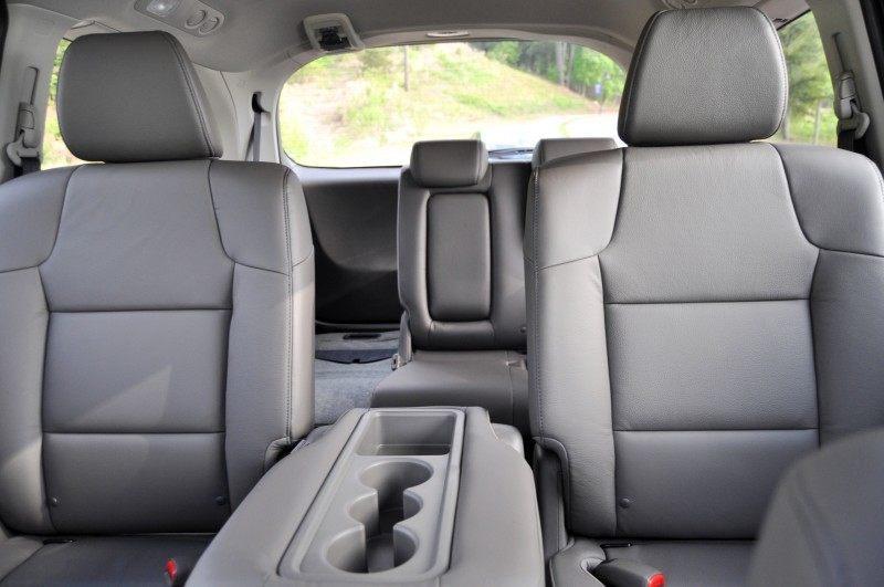 Car-Revs-Daily.com Road Test Review - 2014 Honda Odyssey Touring Elite 19